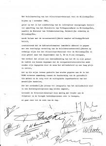 Motie DGMH 1 nov 1982
